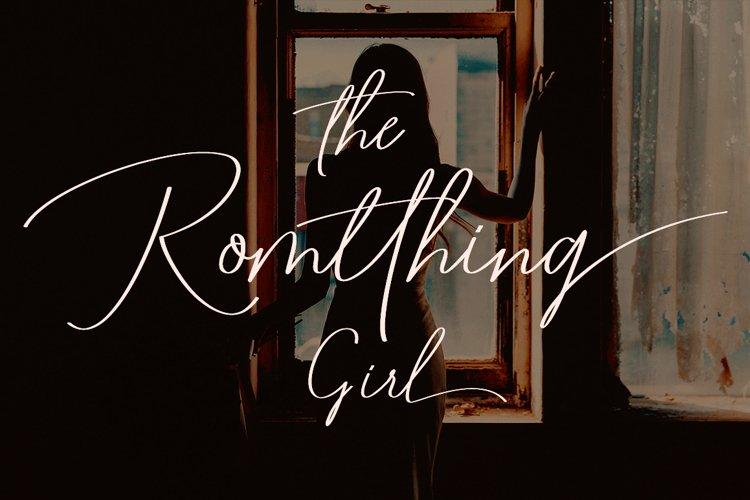 Romtthing Girl - Signature Stylish example image 1