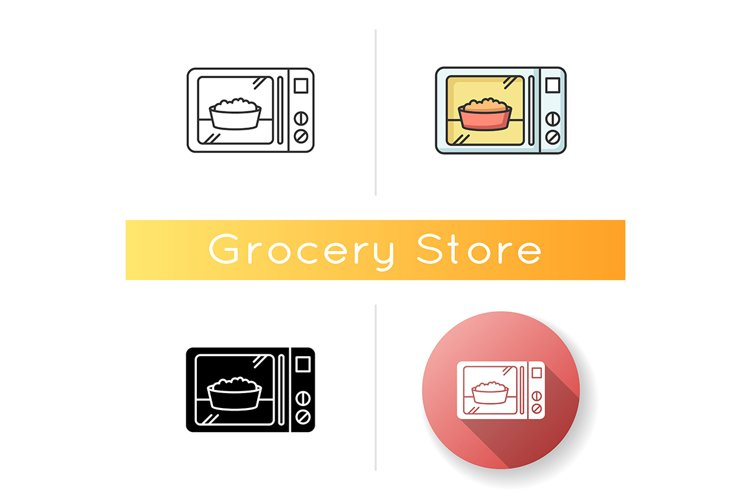 Ready meal icon example image 1