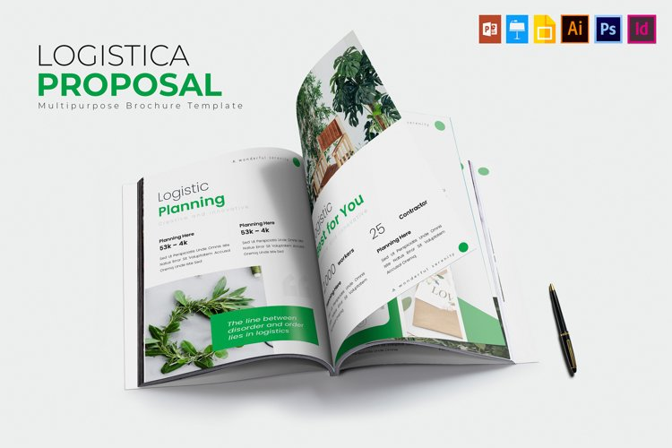 Logistica | Proposal Template example image 1