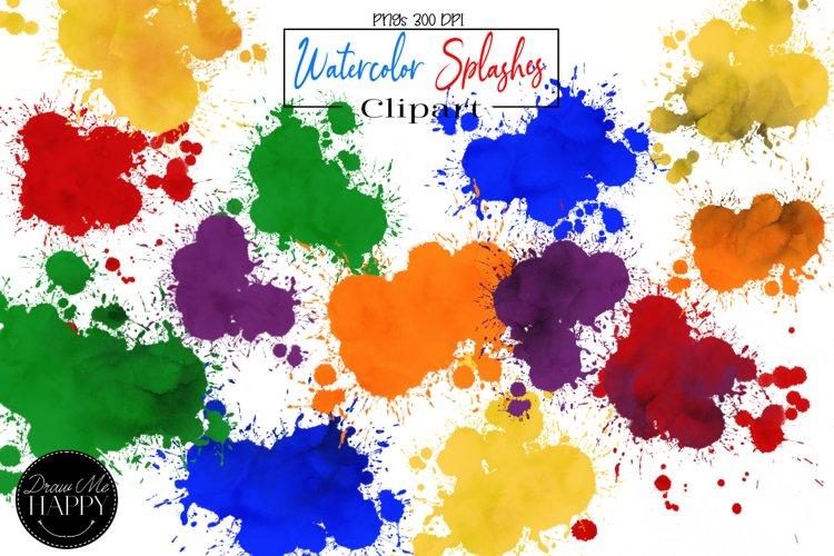 Sublimation Background, Watercolor Splashes, Paint Splashes