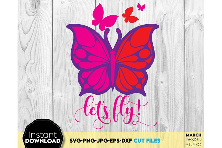 Butterfly SVG Butterfly Stencil, Butterfly Clipart summer example