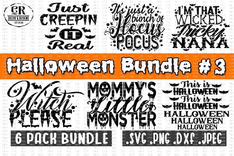 Halloween Bundle #3, Halloween Bundle svg example image 1