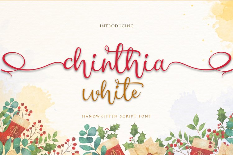 Chinthia white example image 1