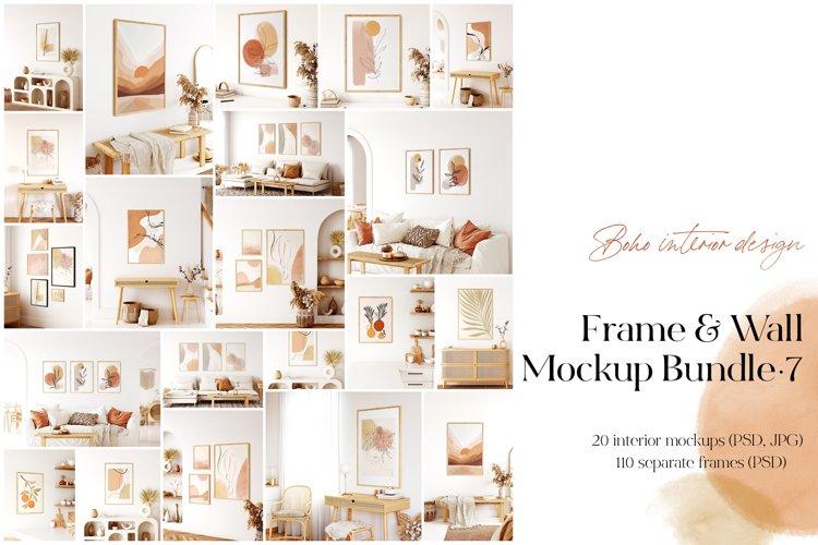 Frame & Wall Mockup Bundle - 7