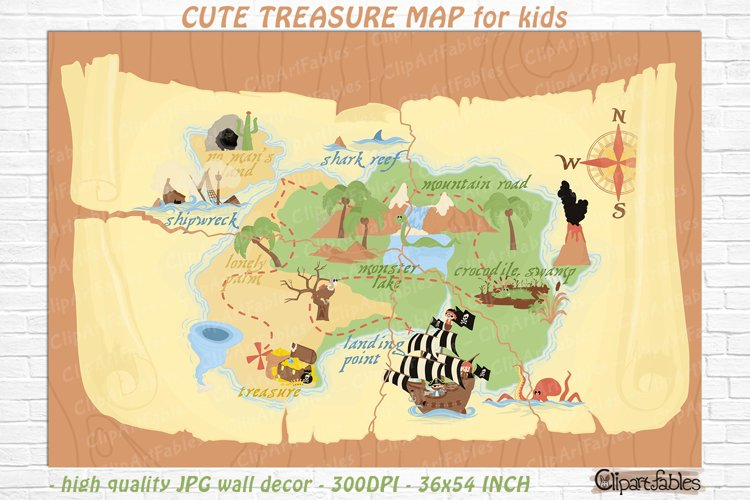 Blank Treasure Map Template from i.fbcd.co