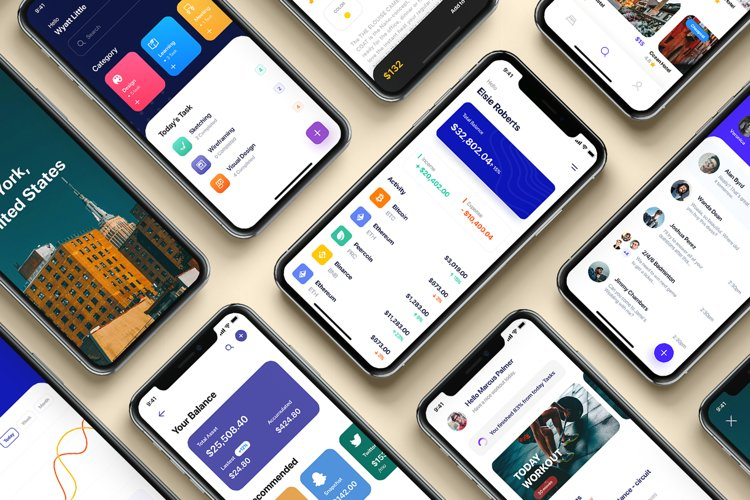 Platin - Multipurpose iOS UI Kit