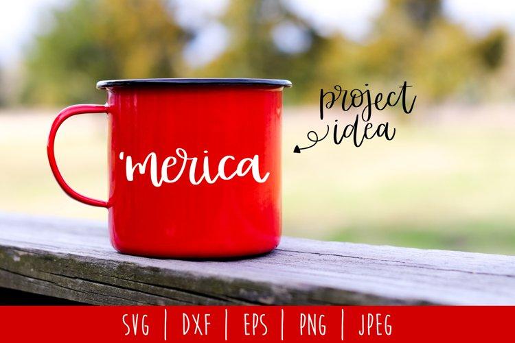 Merica SVG, DXF, EPS, PNG JPEG