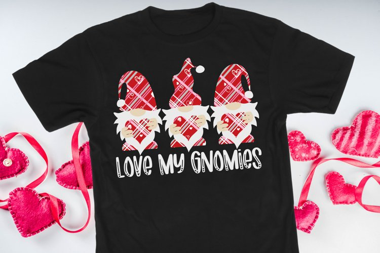 Love My Gnomies SVG DXF PNG example image 1