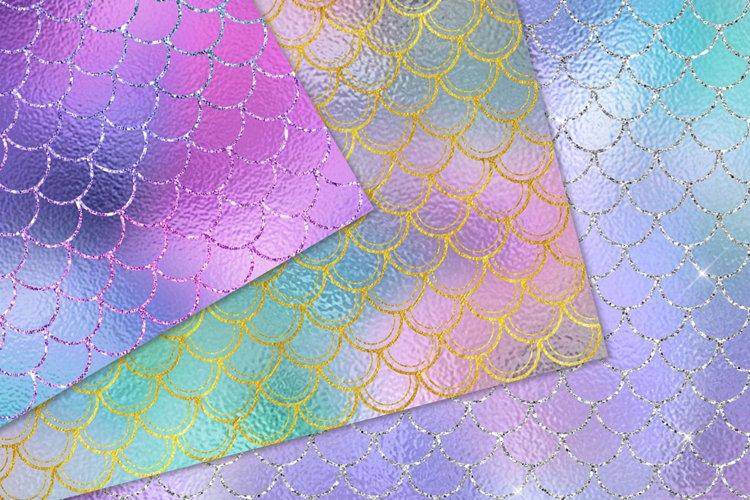 Sparkling Mermaid Digital Paper - Free Design of The Week Design0