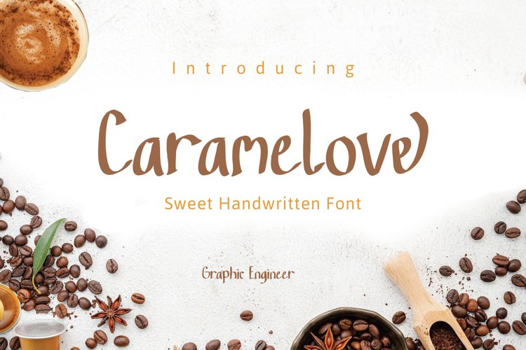 Caramelove a Quirky Handwritten Font