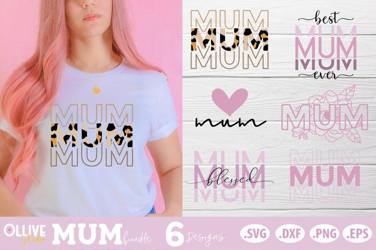 Mother's Day SVG Bundle | Mum SVG Bundle example image 1