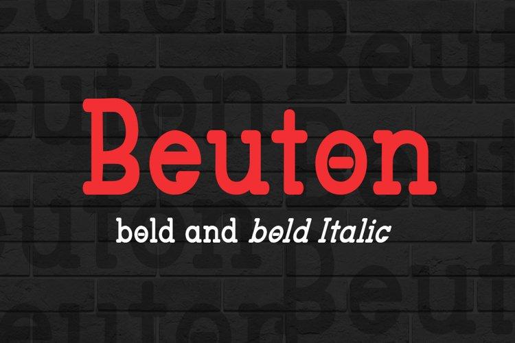 Beuton bold example image 1
