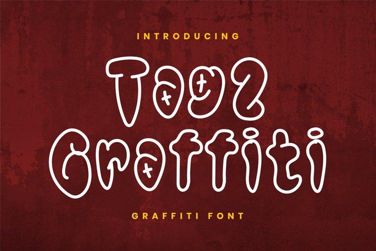 Tag2 Graffiti Font example image 1