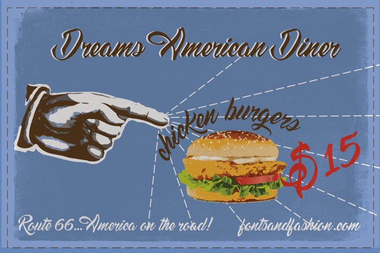 Dreams American Diner example image 1