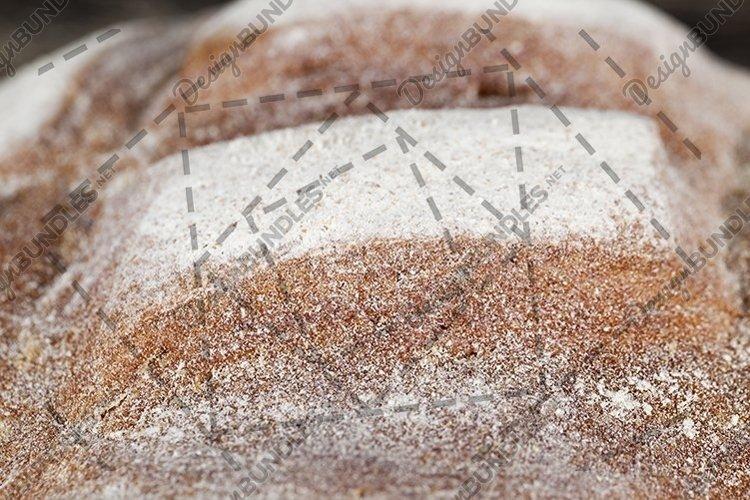 Bread crisp detail closeup example image 1