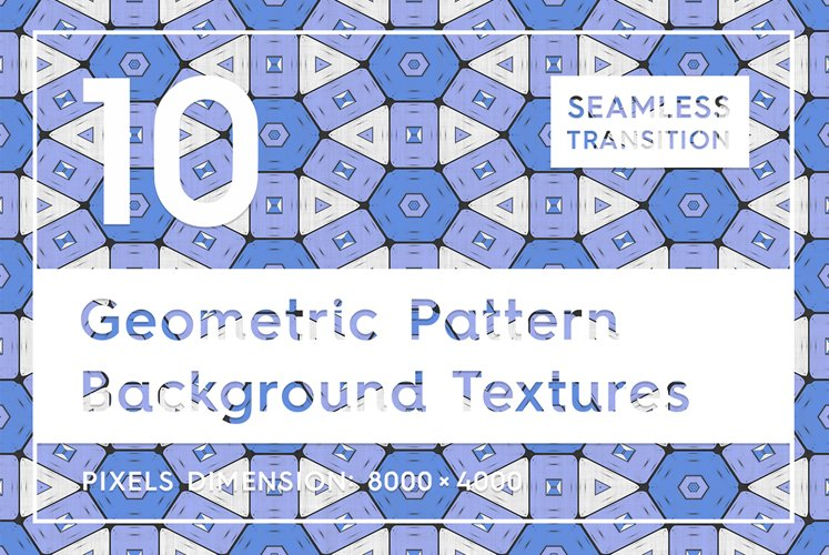 10 Geometric Pattern Backgrounds example image 1