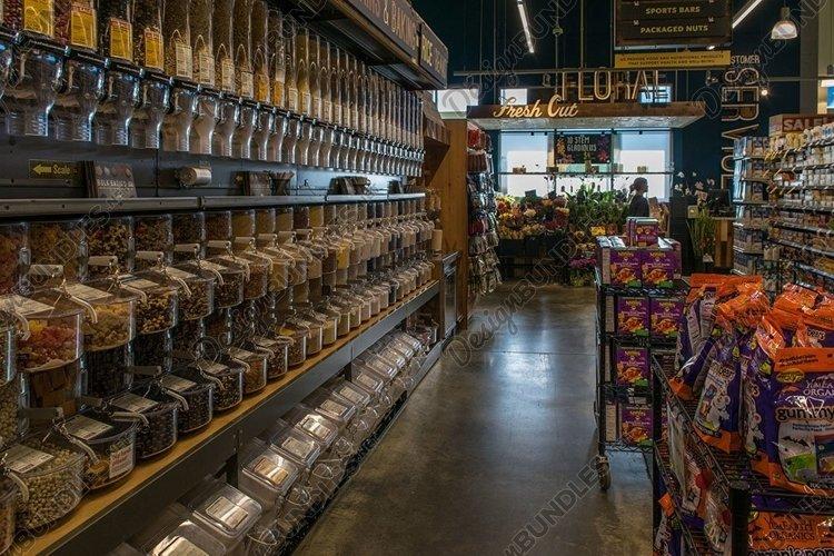 Nostalgic Whole Foods Market bulk section before pandemic example image 1