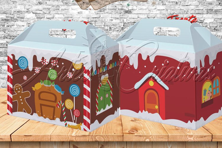 christmas theme candy box example image 1