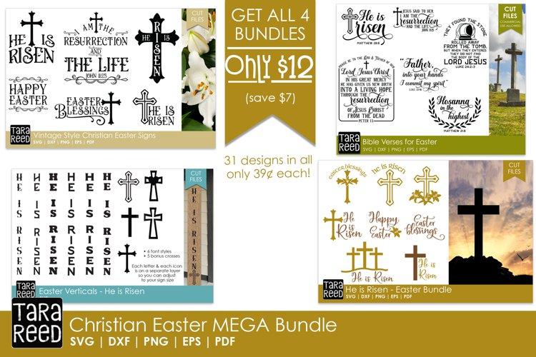 Christian Easter MEGA Bundle - Easter SVG and Cut Files