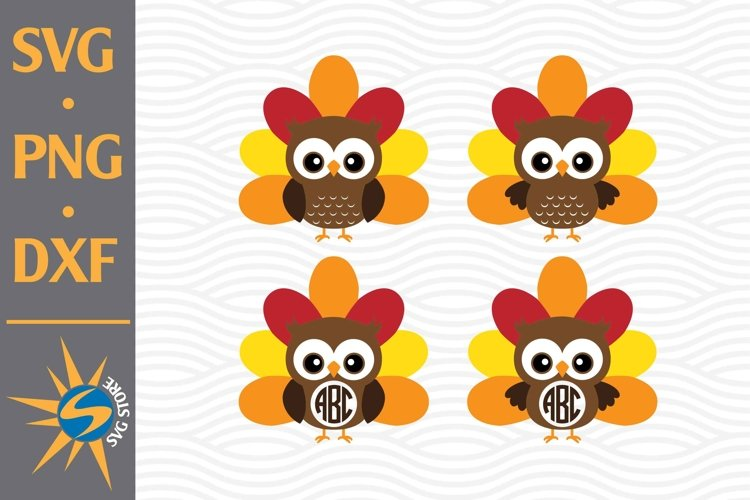 Owl SVG, PNG, DXF Digital Files Include example image 1