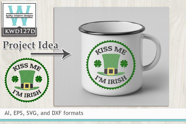 St. Patricks SVG - Kiss Me Im Irish