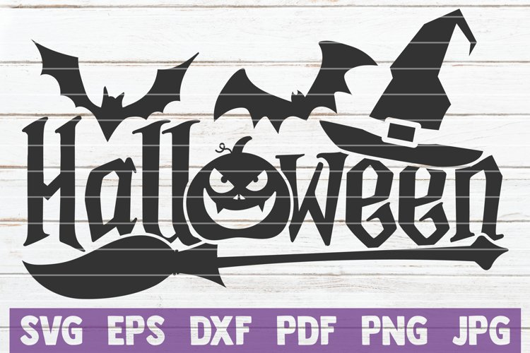 Halloween SVG Cut File example image 1