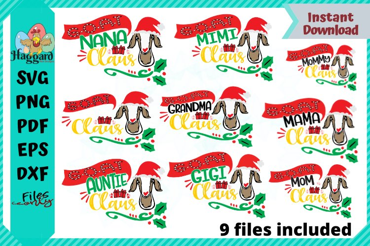 """G.O.A.T """"BUNDLE"""" Claus example image 1"""