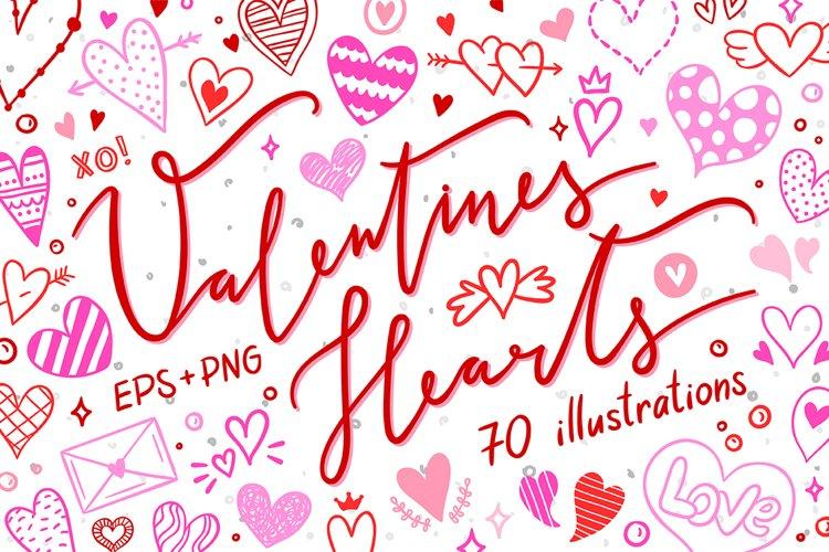 Valentines Hearts example image 1