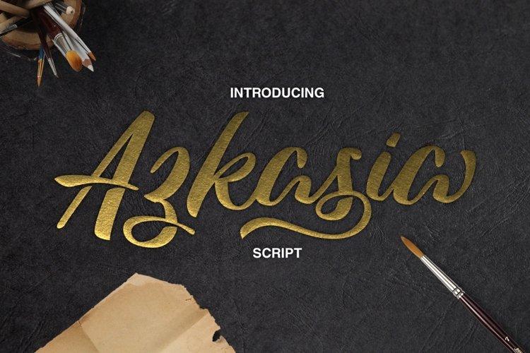 Azkasia Script example image 1