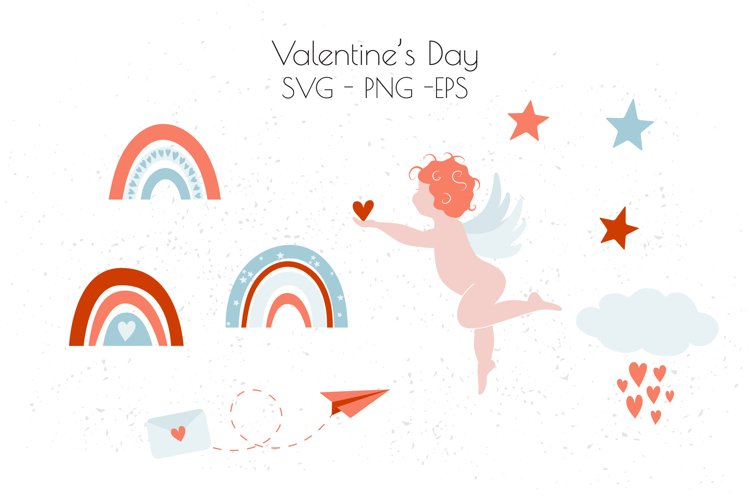 Valentine's Day SVG, Valentine clipart, love SVG example image 1