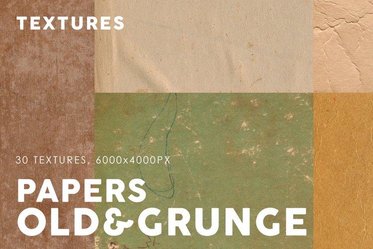 Old&Grunge Paper Textures 1