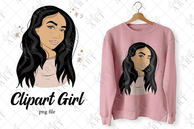Clipart Girl, Portrait, Fashion, Planner