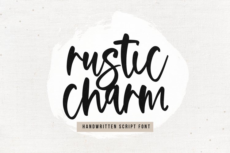 Rustic Charm - A Handwritten Script Font example image 1