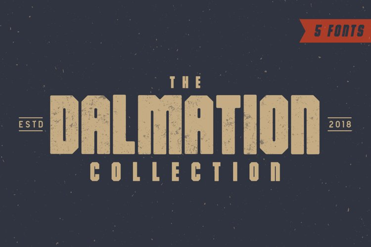 The Dalmation - Font Family