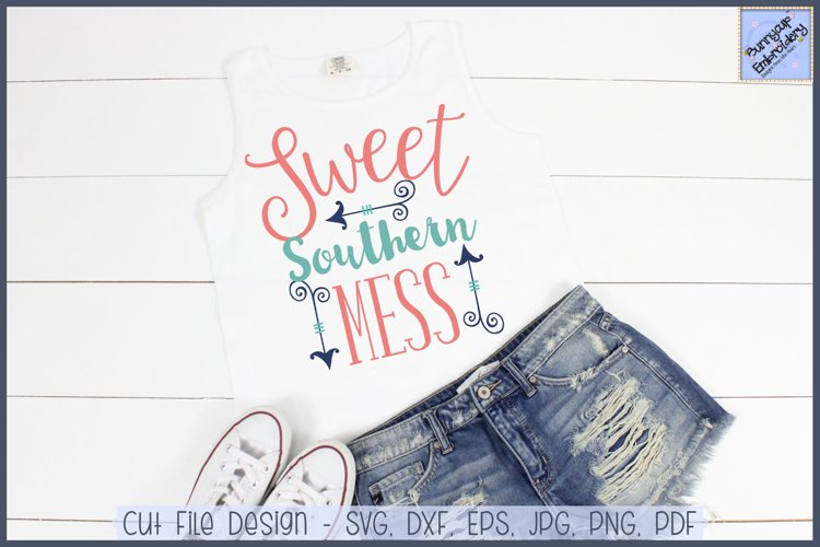 Sweet Southern Mess SVG and Clipart example image 1