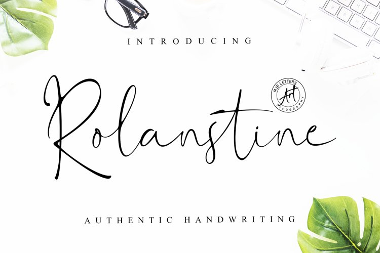 Rolanstine Authentic Signature example image 1