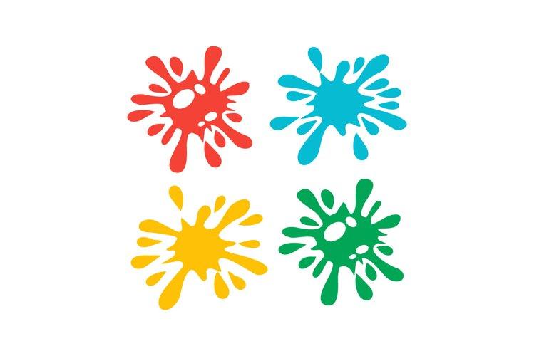 splash colour clipart vector illustration example image 1