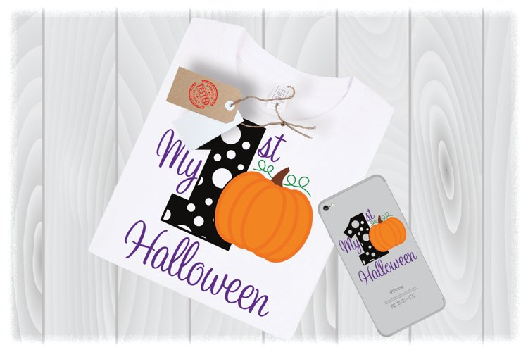 My 1st Halloween SVG Files for Cricut Designs example image 1