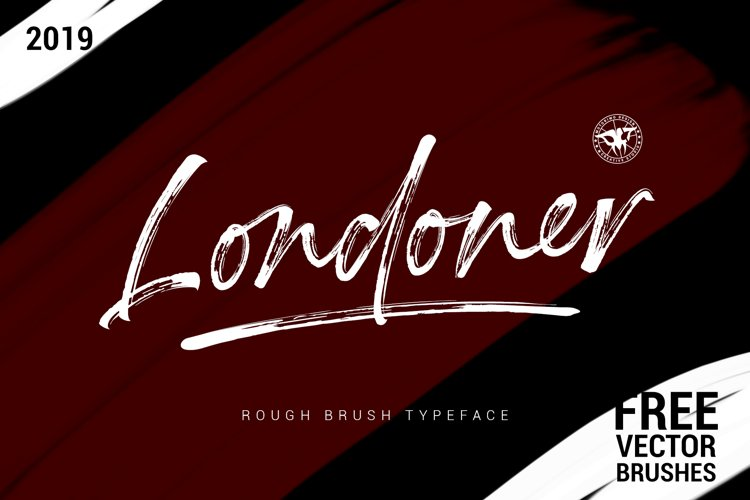 Londoner - Handwritten Rough Brush with Bonus