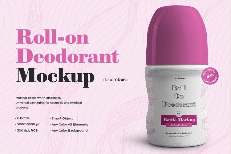 6 Roll-On Deodorant Mockups example image 1