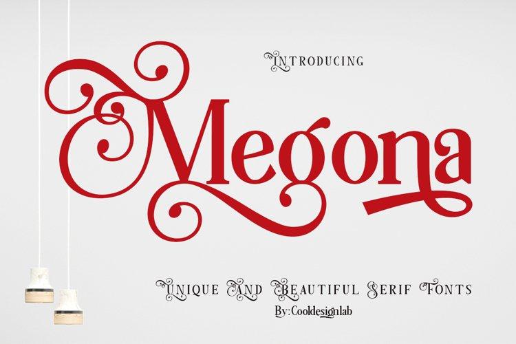 Megona | Modern Serif example image 1