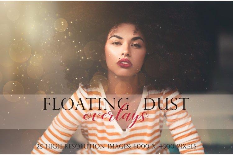Floating dust photographic overlays example image 1