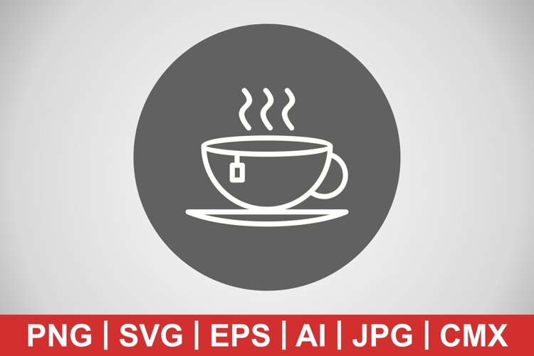 Vector Tea Icon example image 1