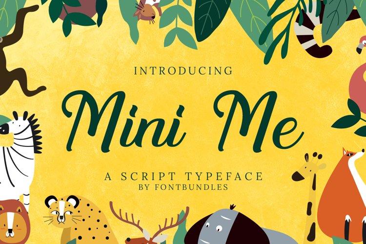 Mini Me example image 1
