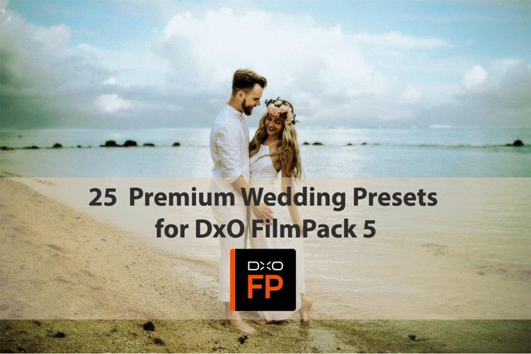 25 Premium Wedding Presets for DxO FilmPack 5