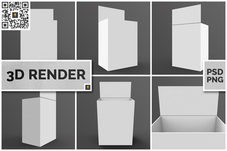 Store Palette with Crowner 3D Render example image 1