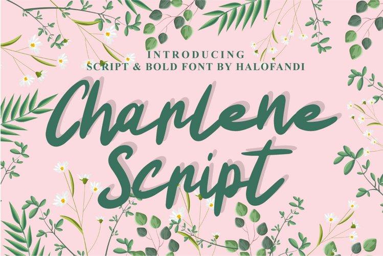 Charlene Script example image 1