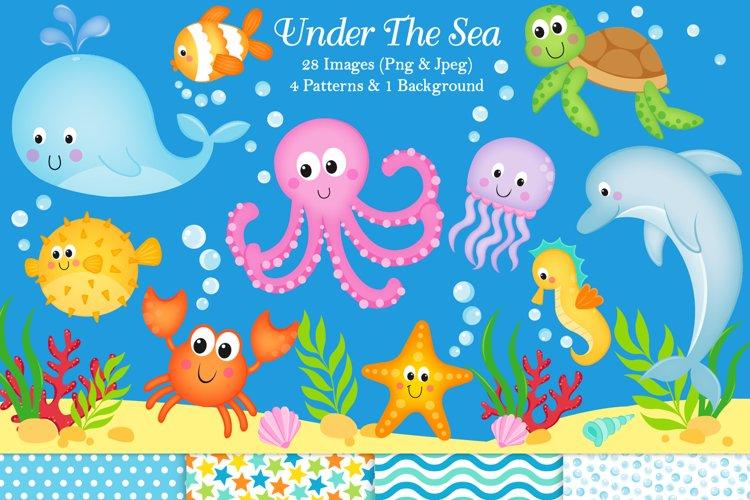 Under the sea clipart, Under the sea graphics   illustration