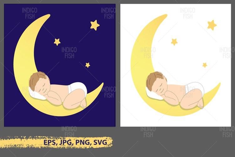 Baby Sleeping Clipart