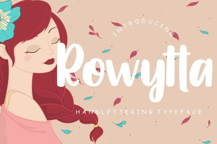 Rowytta Handlettering Typeface example image 1